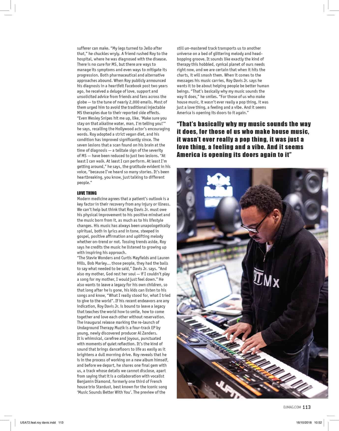 46473844_1061017340736285_3496729177153863680_o DJ Mag's November issue 3 Page spread