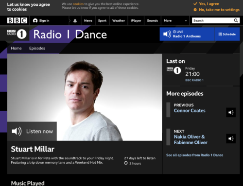 Pete Tong BBC Radio 1 play