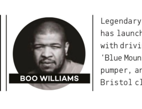 "Mixmag feature Boo Williams's new ""Boo Moonman Records"""