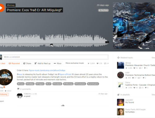 Mixmag premiere Exos