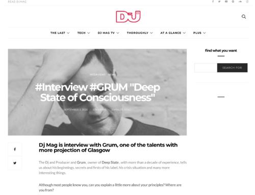 DJ Mag España interview